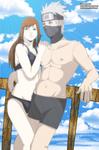 Art trade Katsuko and Kakashi Playa