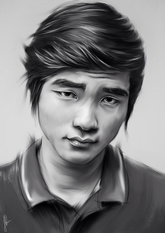 Portrait of Faker by aLi2k4 on DeviantArt   1024 x 1448 jpeg 164kB