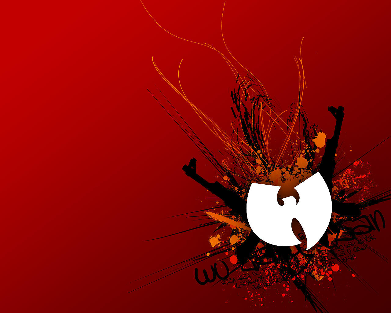wu tang tribute wallpaper by adept on deviantart