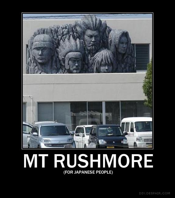 Mt. Rushmore by dRPowerDrain