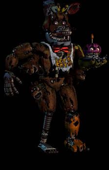 Nightmare Freddy Hybrid