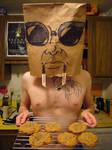 Bag Head Cookies by jesseaaah