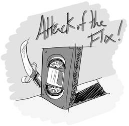 Attack of the Flix Limited Ed Logo by jesseaaah