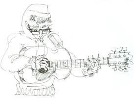 Walkin with my Guitar by jesseaaah