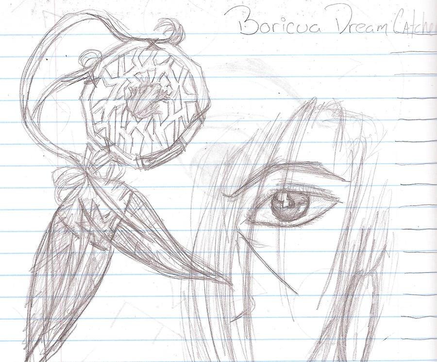 Boricua Dreamcatcher by twilightrose15