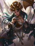 Lana Solaris by Kamiyamark