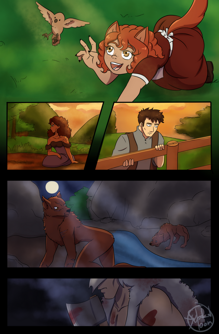 Little Red Wolf - Test Page by SubduedMoon