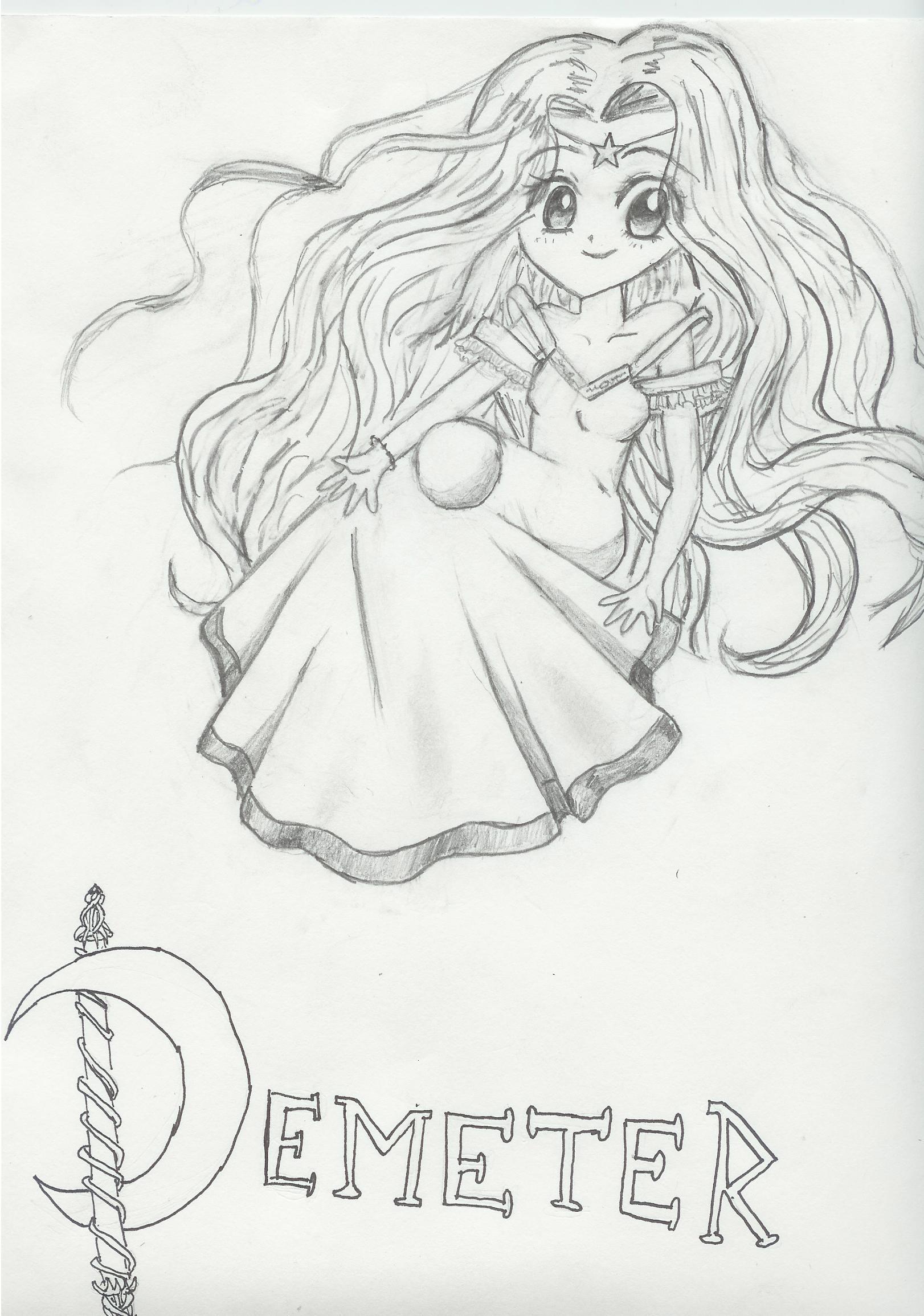 Uncategorized How To Draw Demeter demetervirgo zodiac p i by korasia lady on deviantart lady