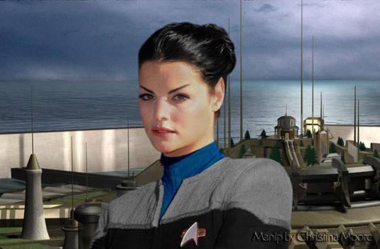Jaimie Alexander as a Vulcan v2