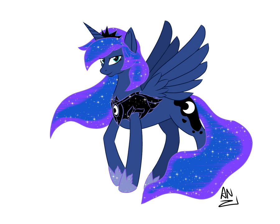 MLP: Princess Luna by x6tr2ni