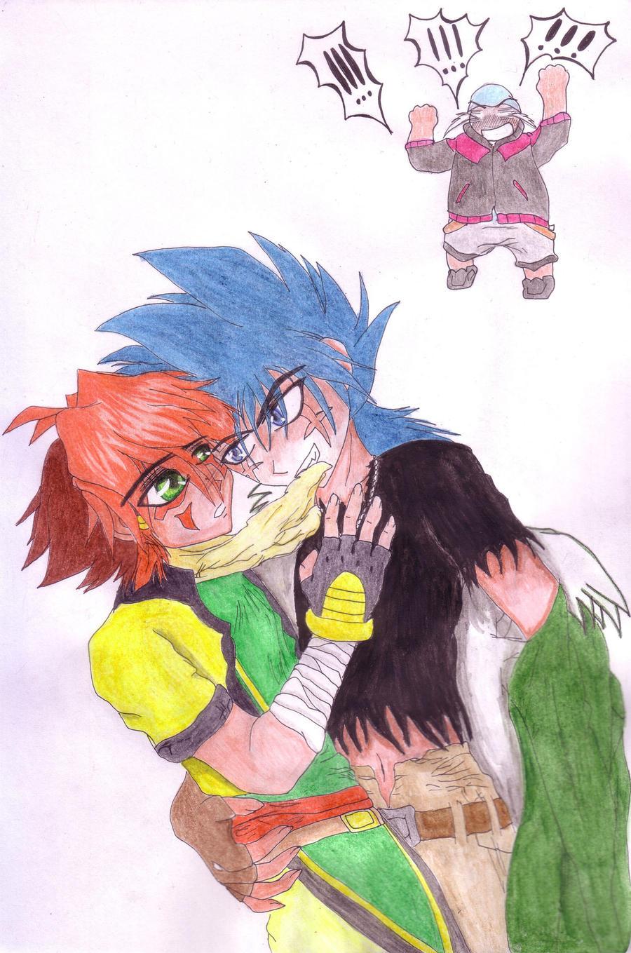 Kyoya, Nile And Jealous Benkei By SelenaV On DeviantArt