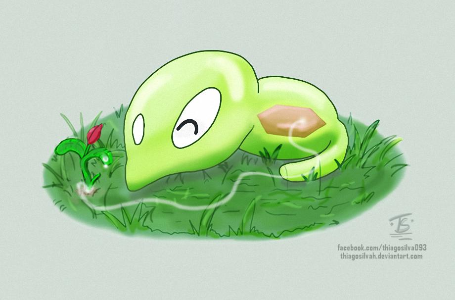 Who Is Squishy In Pokemon Xyz : Puni-chan (Squishy) Zygarde C. Pokemon XYZ Fanart by ThiagoSilvah on DeviantArt