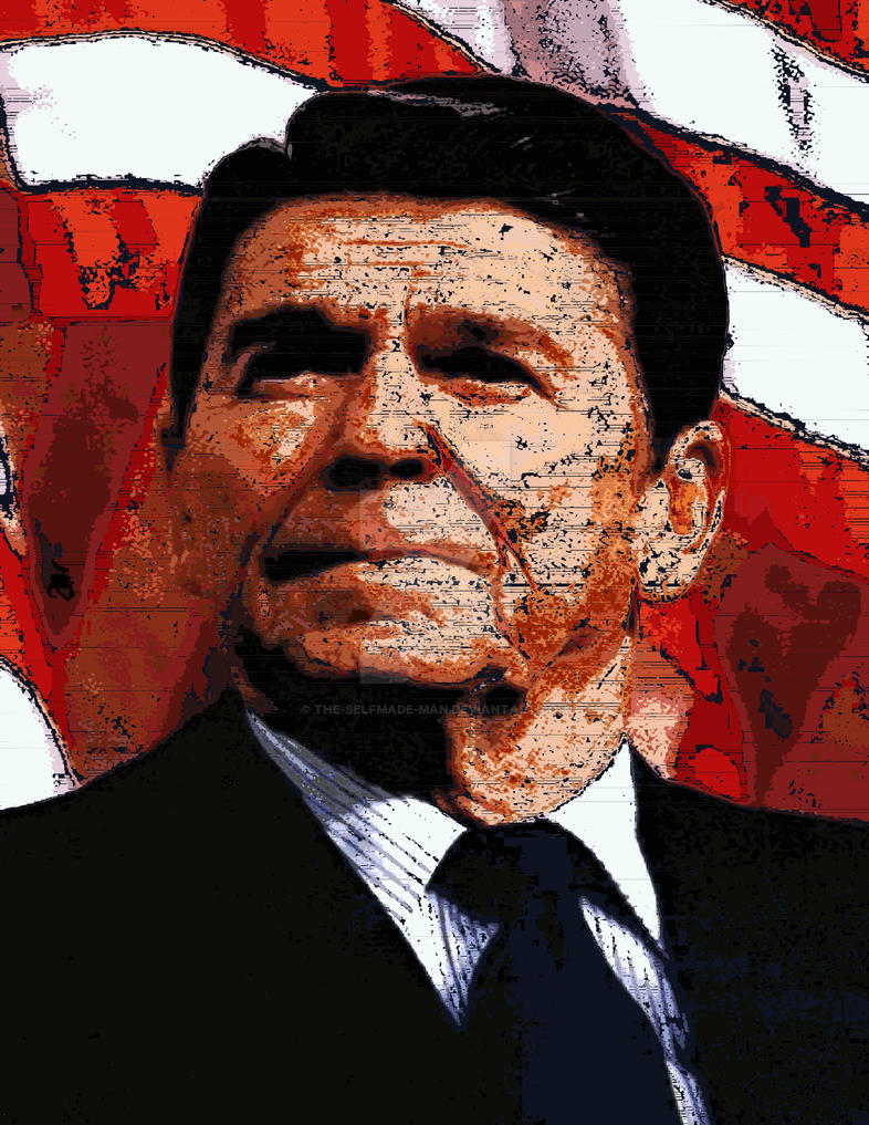 Ronald Reagan by The-SelfMade-Man