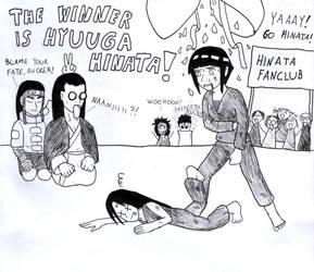 The winner is Hyuuga Hinata by Huudel