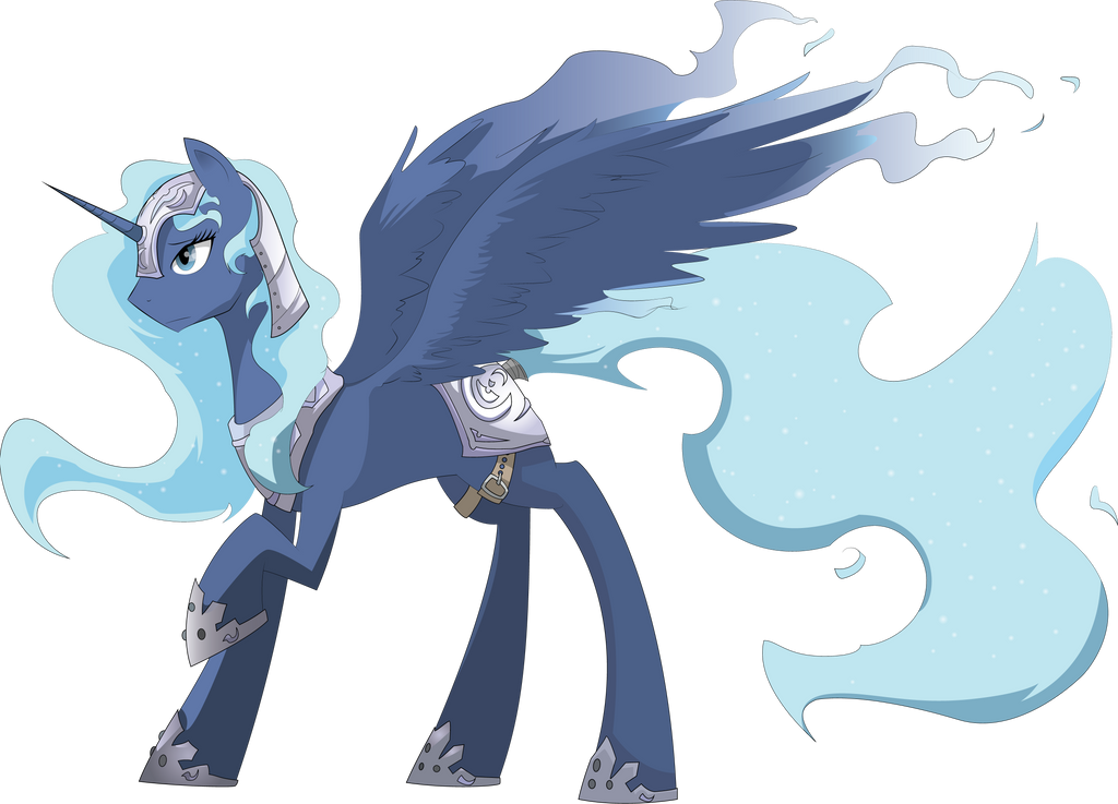 Luna vector by SUBJECT-241