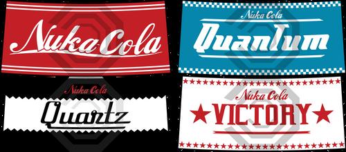 Nuka Cola Bottle Logo's