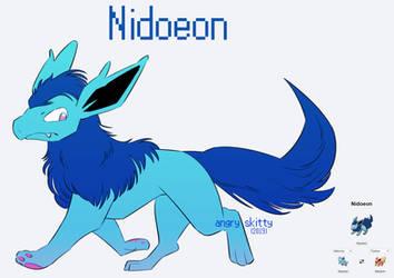 [Pokemon Fusions] Nidoeon by Katarinu