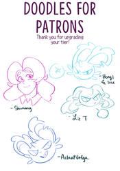 [Patreon] Thank you sketches by Katarinu