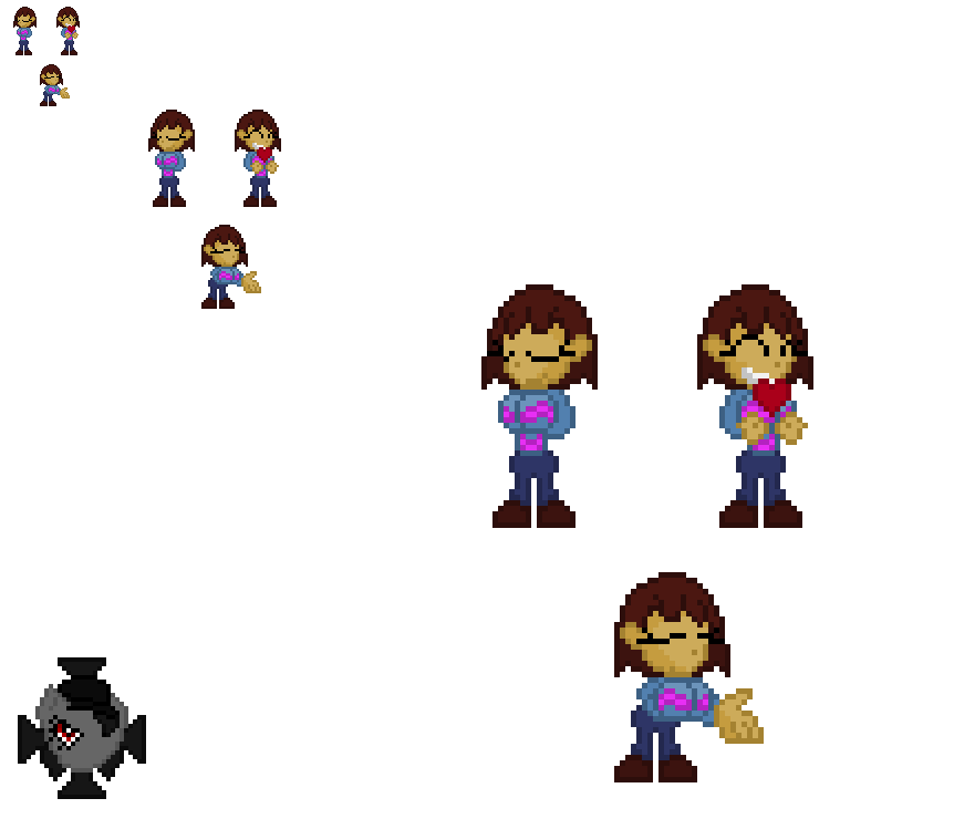 young adult Frisk ref by PRINCEOFDARKNESSCLAW
