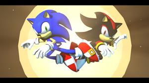 Sonic vs Shadow