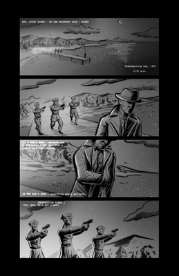 The Good Bootlegger - Storyboard Pitch Page 1