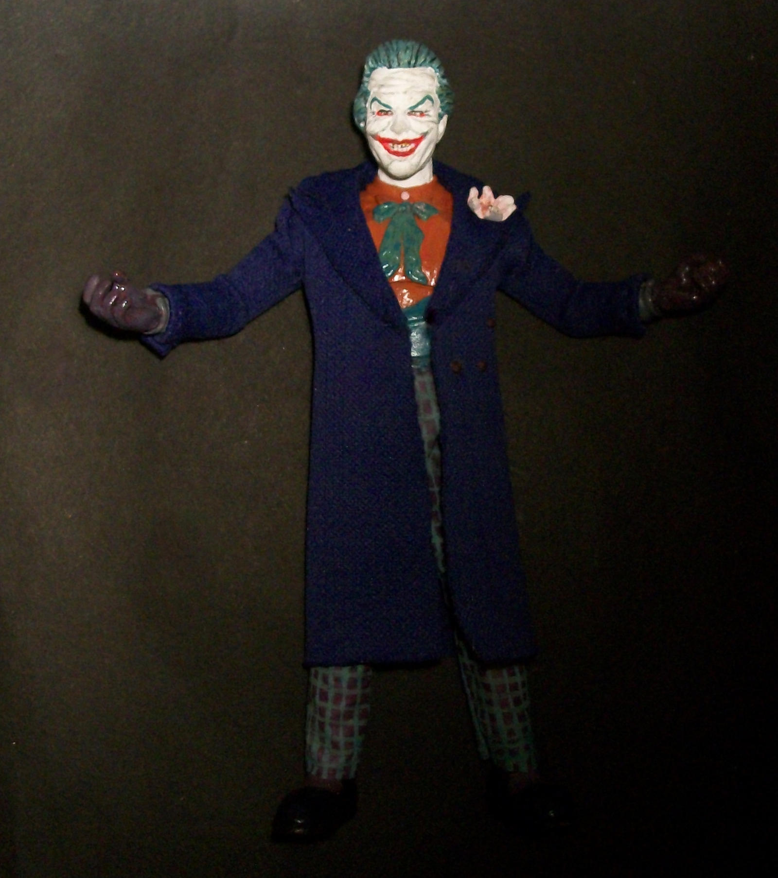 Jack Nicholson Joker From Batman Custom 7.5 Inch By Jhonny