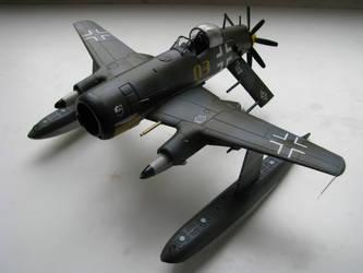 Messerschmitt Me-F4 Kampfadler by Brandzai