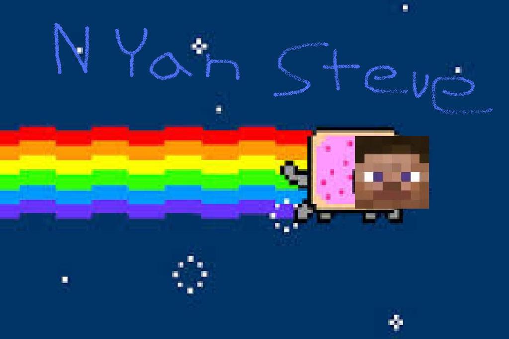 Nyan Herobrine (Original) - YouTube