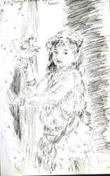 Enfant Oiseau De Renoir