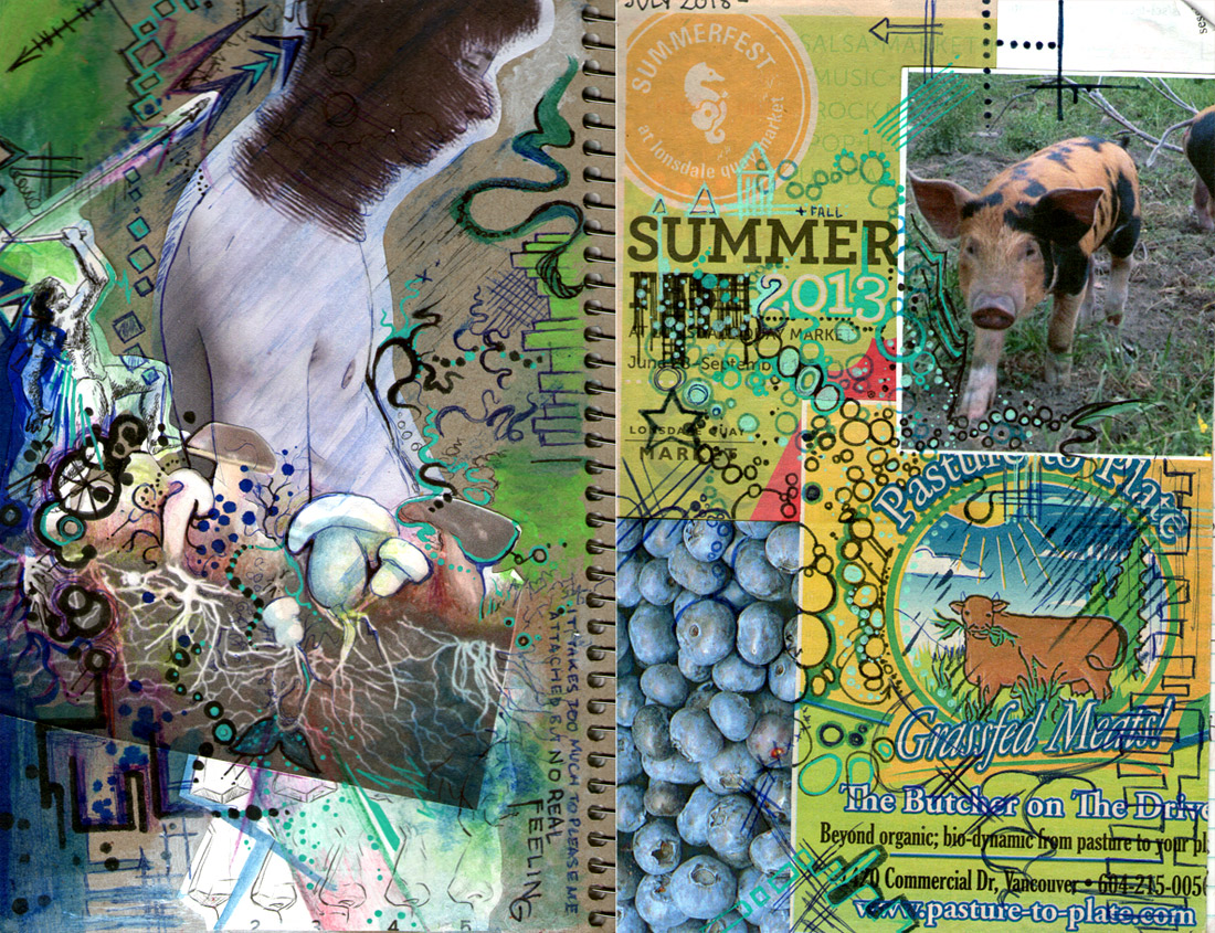Journal cover front and back by iscaylis on deviantart for Koch 6 backjournal