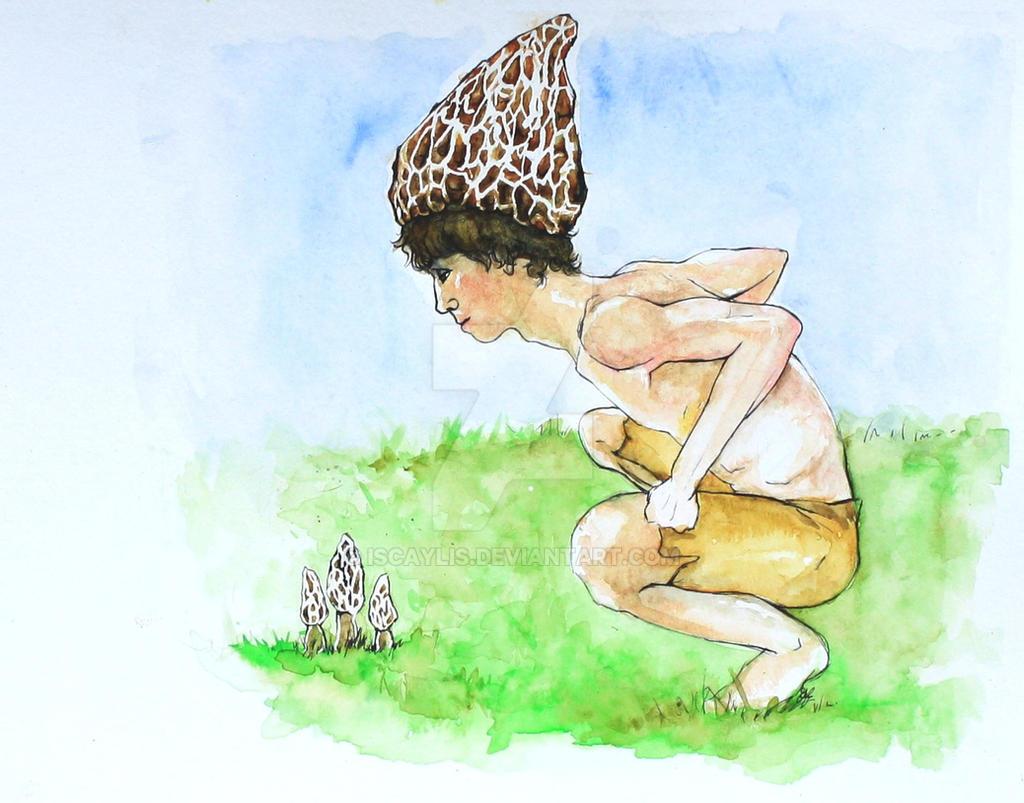 Morel Mushroom Man