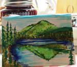 Sasamat Lake Card by iscaylis