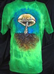 Bolete Mycelium Shirt 2 by iscaylis