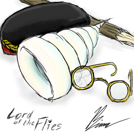 Lord Of The Flies Glasses