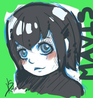 Mavis Sketch by RisingPhoenix422