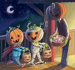 Halloween in Pumpkinland