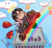 Mr. Iwata by LinkDoodle