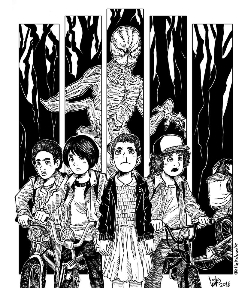 Stranger Things By LinkDoodle On DeviantArt