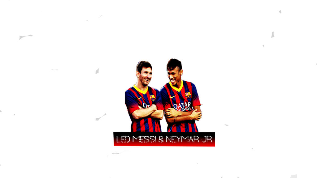 Messi Neymar Logo By Saadghous