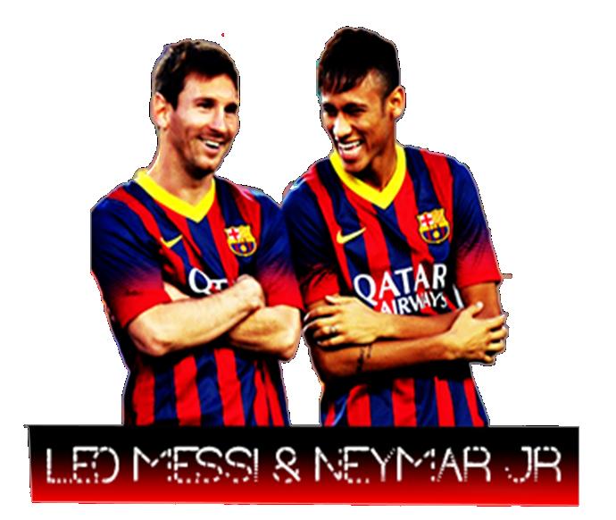 Messi Logo Neymar By Saadghous