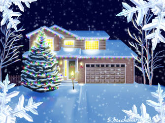 Happy Holidays! by RhunnNecro
