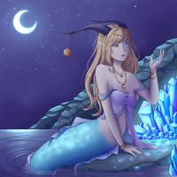 Capricorn Moon by SxLizzy
