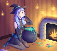 Halloween Redraw by SxLizzy