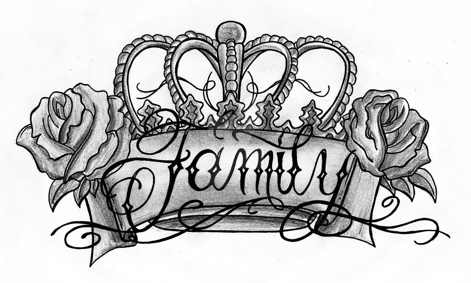 Family Drawing by StevenDureckArt on DeviantArt