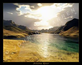 Arizona River Final by johnwarren
