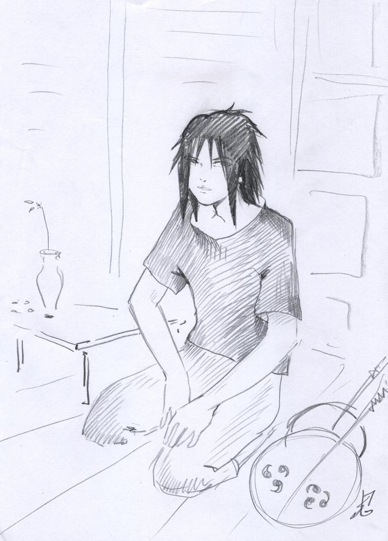 Uchiha Izuna 1 by NakagoinKuto