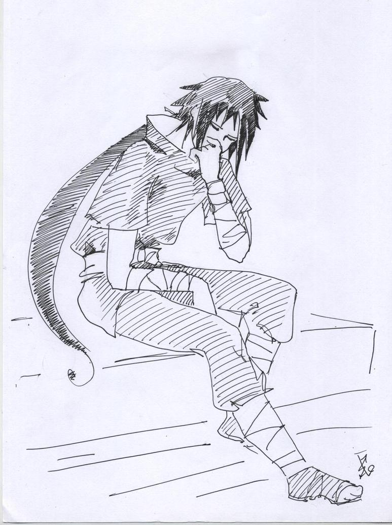 Uchiha Izuna 78 by NakagoinKuto
