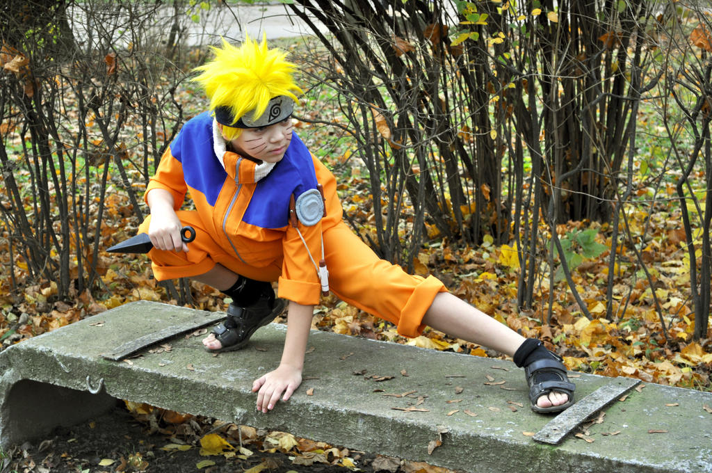 Cosplay Uzumaki Naruto 1 by NakagoinKuto