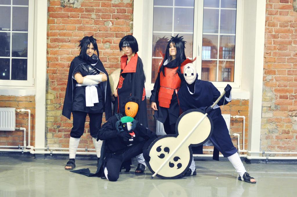 cosplay clan Uchiha 1 by NakagoinKuto