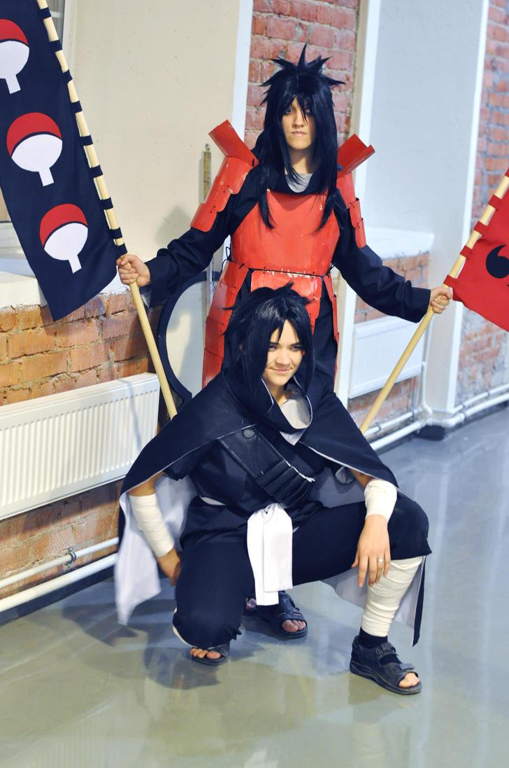 cosplay Madara and Izuna Uchiha 7 by NakagoinKuto